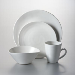Barre 4 Piece Place Setting w/ cereal bowl