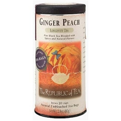 Ginger Peach Black Tea- 50 teabags