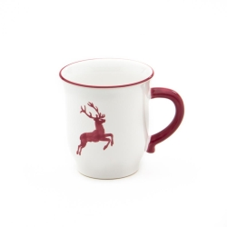 Bordeaux Wine Red Deer Coupe Chocolate Mug