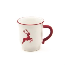 Ruby Red Deer (Stag) Chocolate Mug