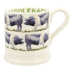 Saddleback Pig 1/2 Pint Mug