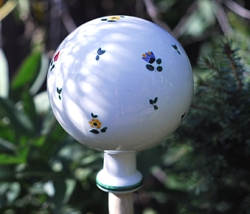 Alpine Flowers Garden Globe Large -RETIRED