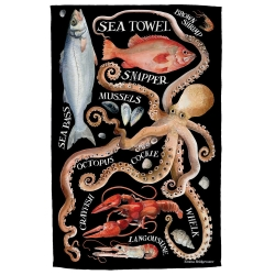 Sea Tea Towel