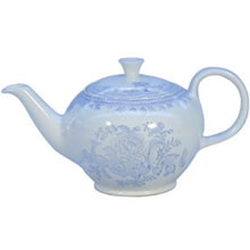 Blue Asiatic Pheasant Small Teapot