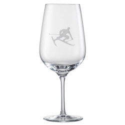 Eisch Glass, Bordeaux Glass Toni the Skier