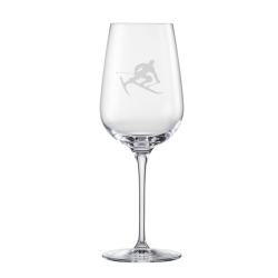 Eisch Glass, Red Wine Glass Toni the Skier
