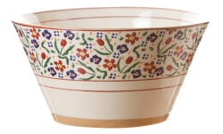 Wild Flower Meadow Large Angled Bowl