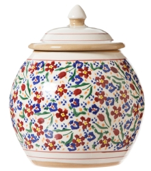 Wild Flower Meadow Cookie Jar