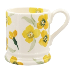 Yellow Wallflower 1/2 Pint Mug