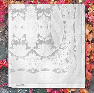 Giro Inglese Tablecloth, 100% Cotton