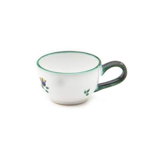 Alpine Flowers Classic Espresso Cup and Saucer