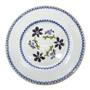 Clematis Lunch Plate