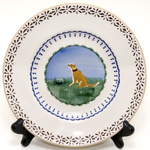 Dog Lunch Plate
