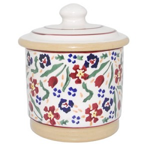 Wildflower Meadow Lidded Sugar Pot