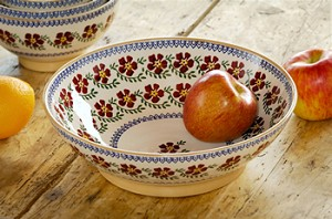 Old Rose Fruit Bowl