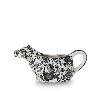 Black Regal Peacock Boxed Cow Creamer - Sold out til 2019