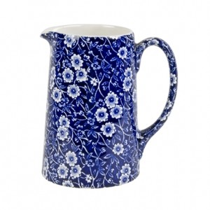 Blue Calico Medium 1 Pint Tankard Jug