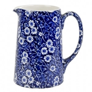Blue Calico 2 Pint Tankard Jug