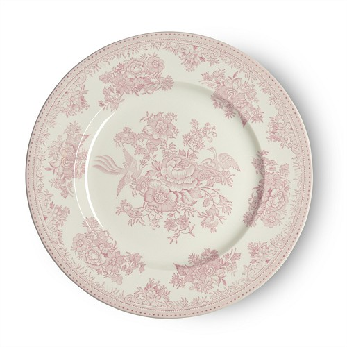 Pink Asiatic Pheasant Dinner Plate