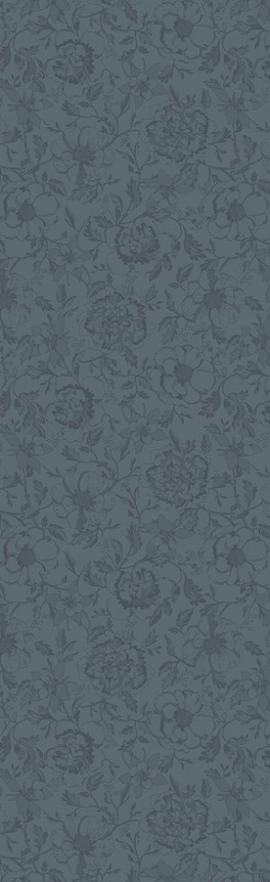Mille Charmes Anthracite Table Runner (Grey)  22 x  71
