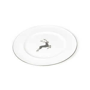 Grey Deer (Stag) Gourmet Dinner Plate 10.5""