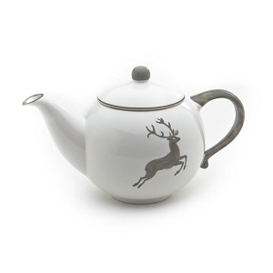 Grey Deer (Stag) Teapot 50 oz