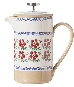 Old Rose Large Cafetiere Pot , French Press