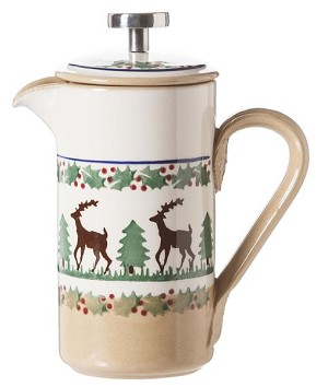 Reindeer Small Cafetiere Pot