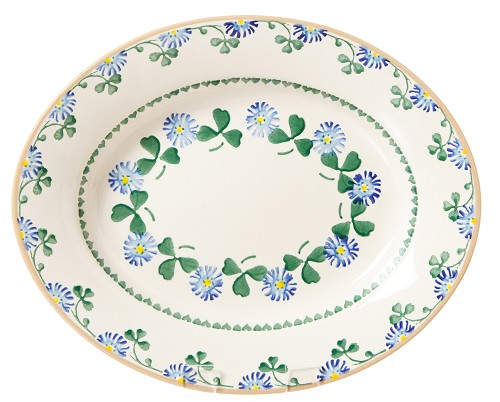 Clover Small Oval Serving Dish