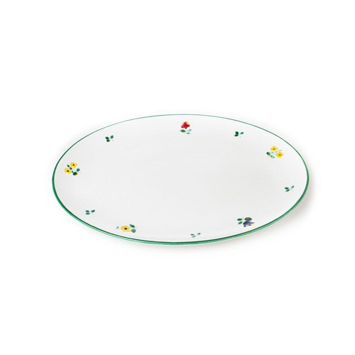 "Alpine Flowers 13"" Platter"