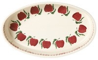Apple Oval Oven Dish- 2 sizes