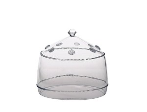 "Isabella 11"" Cake Dome Clear"