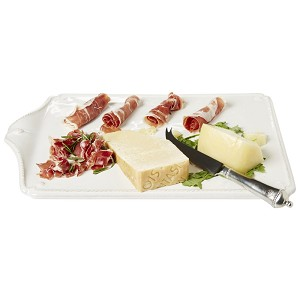 Berry & Thread Whitewash Cheese Board and Knife Set