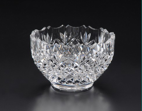 Heritage Glass Blackthorn Lead Crystal Bowl 5""