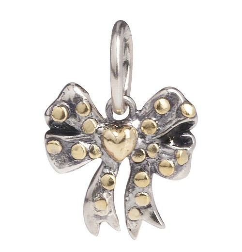 Personal Vocabulary - Bow Love  Sterling Silver/Brass