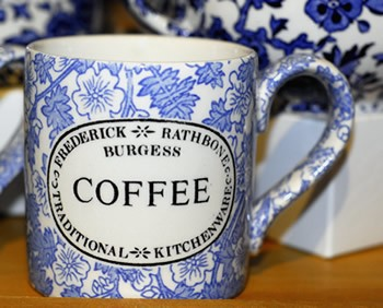 Burgess Chintz Coffee Mug 1/2Pt - RETIRED-2 available