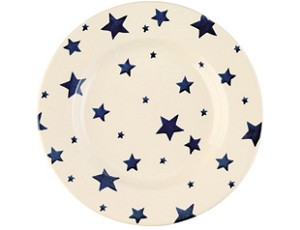 Starry Skies Lunch Plate
