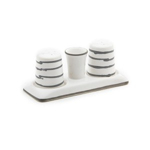 Dizzy Grey Salt and Pepper Set