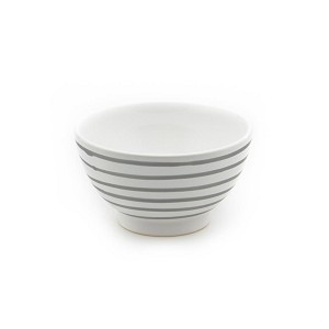 Dizzy Grey Coupe Cereal Bowl 5.5""