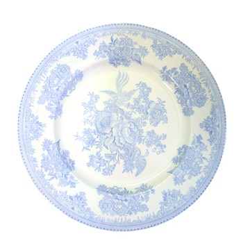 Blue Asiatic Pheasant Dinner Plate 10