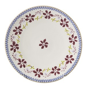 New Nicholas Mosse Clematis Everyday Plate