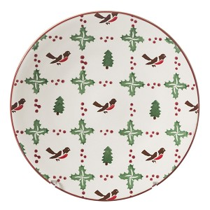 Winter Robin Everyday Plate
