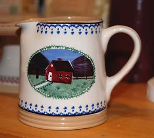 Farmhouse Small Cylinder Jug