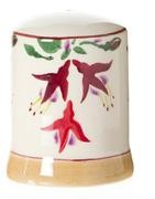 Fuchsia Salt  and  Pepper Shakers