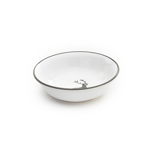 Grey Deer Low Cereal/Compote Dish 5.5""
