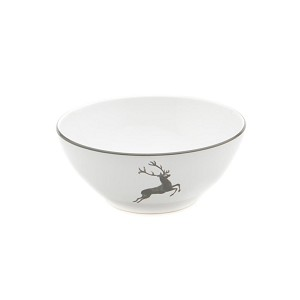 Grey Deer (Stag) Serving Bowl 10.75""