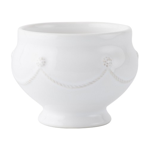 Berry & Thread Whitewash Footed Soup Bowl