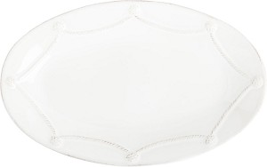 "Berry & Thread 12"" Oval Platter"