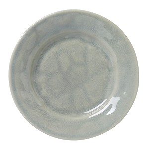 Puro Mist Grey Crackle Side/Cocktail Plate