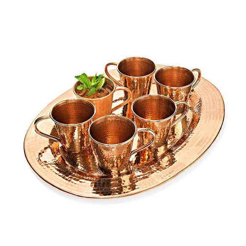 Sertodo Service For Six Moscow Mule Mug Set